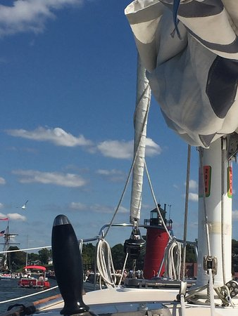 Sailing South Haven: Beautiful day for a sail
