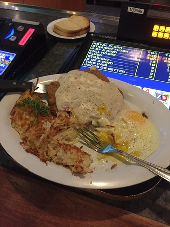 Terrible's Gold Ranch Casino & RV Resort: Chicken Fied Steak and Eggs