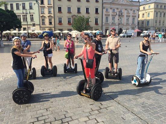 Kraków segway tour
