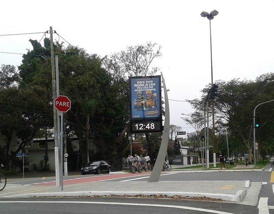 Ciclofaixa de Sao Paulo