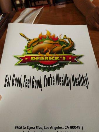 Derrick's Jamaican Cuisine : Good food!