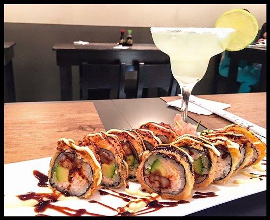 San Pedro, Costa Rica: El sabor del sushi es único, riquísimo, hay tragos,variedad de cervezas, buena música, buen ambi