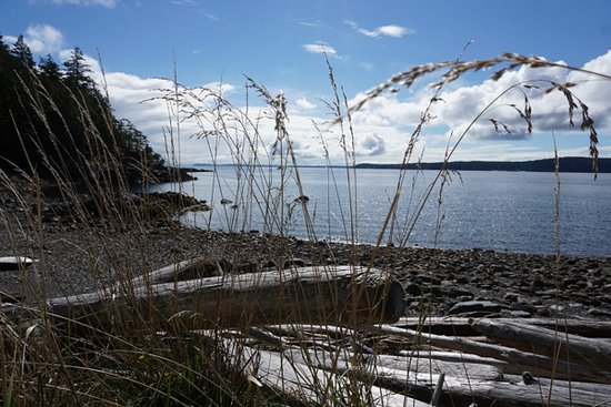 Cortes Island, Kanada: beautiful views...