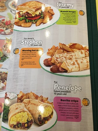 Food and menu options