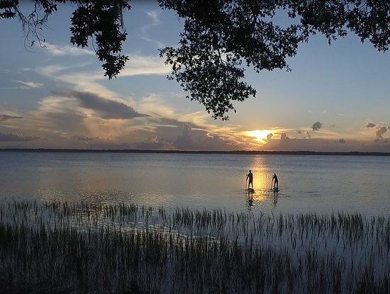 Fernandina Beach, FL: sunset SUP tour