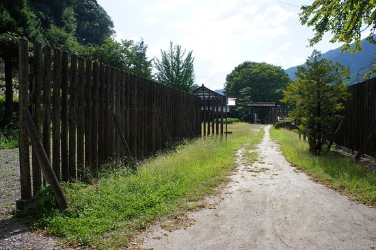 Remains of Fukushima Checkpoint