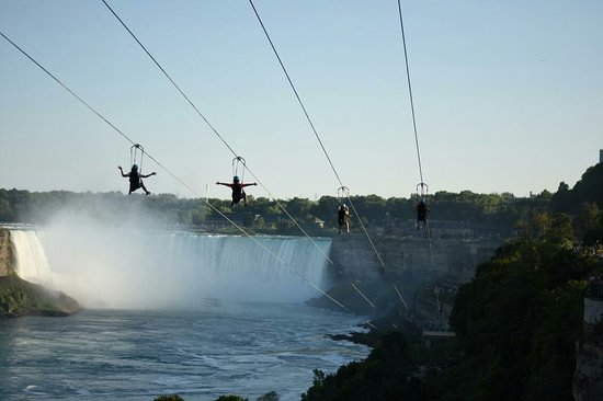 Image result for niagara falls zipline