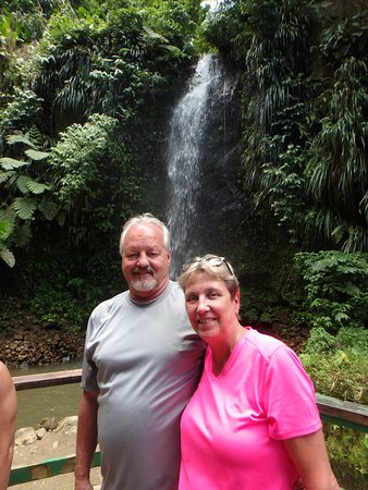 Vieux Fort, St. Lucia: Waterfall adventure