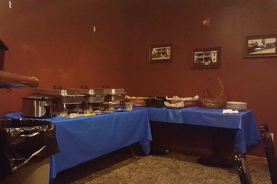 Southwick, MA: Banquet Buffet