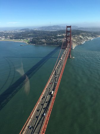 Bay Aerial San Francisco Helicopter Tours: Golden Gate Bridge