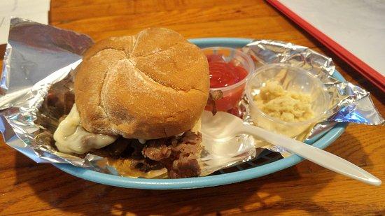 Wilson, Νέα Υόρκη: Beef on weck...