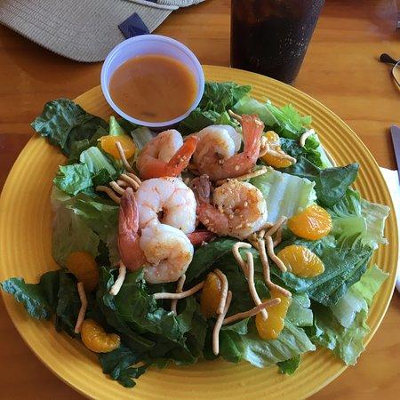 The Coop Deck - my shrimp Oriental salad