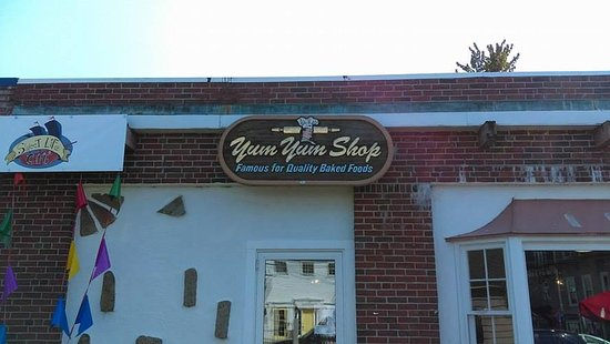 Wolfeboro, Νιού Χάμσαϊρ: The outside of the Yum Tum Shop