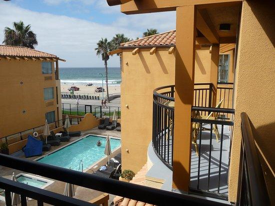 Ocean Park Inn: Fantastic view from our room!