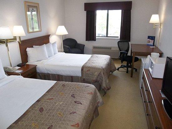 Marshfield, Висконсин: Standard 2 Double Bed Room