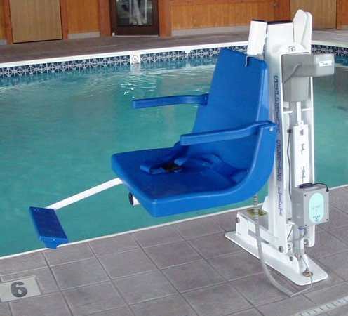 ‪‪Marshfield‬, ‪Wisconsin‬: Handicaped Accessable Pool‬