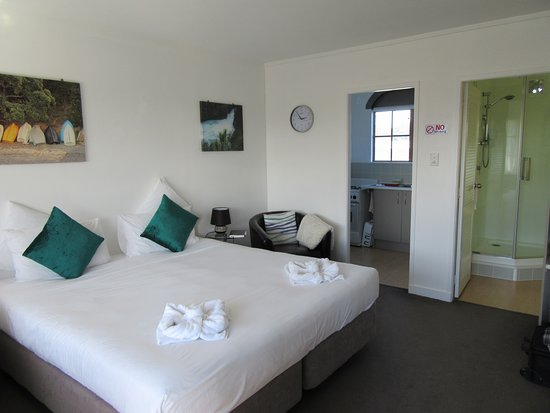 Rotorua Motel : Room 14 upstairs, with kitchen and bathroom off it