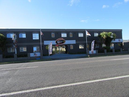 Rotorua Motel: Front of hotel
