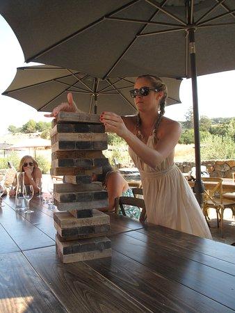 Χίλντσμπεργκ, Καλιφόρνια: skills with wine and games