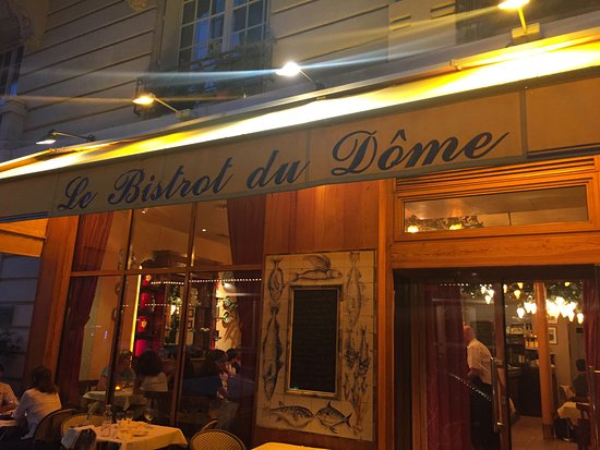 le bistrot du dome paris 1 rue delambre montparnasse restaurant reviews phone number. Black Bedroom Furniture Sets. Home Design Ideas