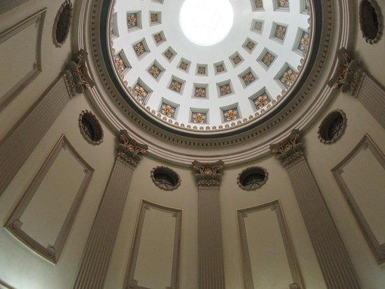 Ceiling in the rotunda of the Old Capitol State House, Jackson, MS