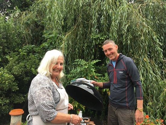 Talybont, UK: Happy 50th Birthday at Llwyn Ynn cottage