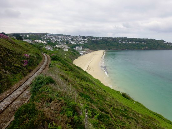 South West Coast Path Walk- Lelant Station to St Ives