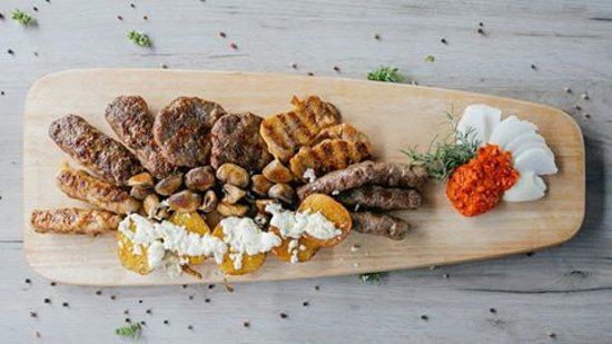 Mursko Sredisce, Croatia: Grill meat plate