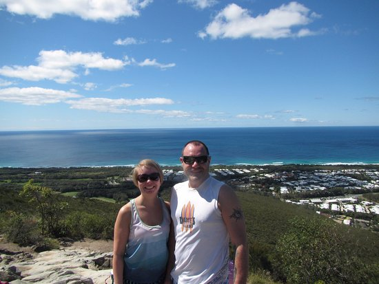 Coolum Beach, Australia: Summit to the ocean