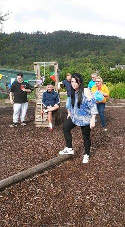 Callander Hostel: The playpark