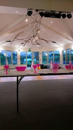 Callander Hostel: The beautiful function hall