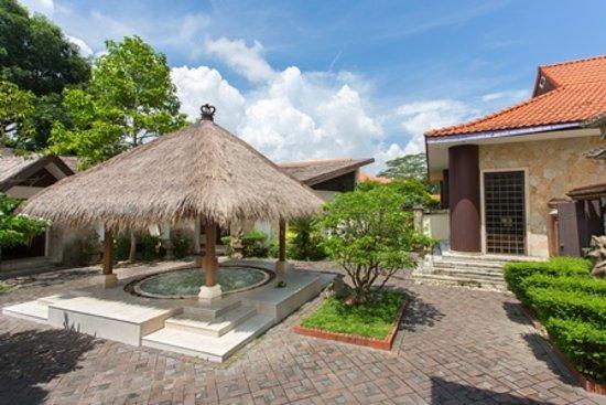 Sekupang, Indonesien: Tea Tree Spa Pool