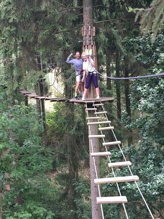Aston Clinton, UK: Go Ape