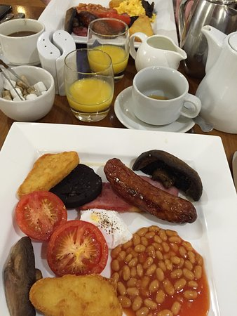 North Wootton, UK: Full english breakfast