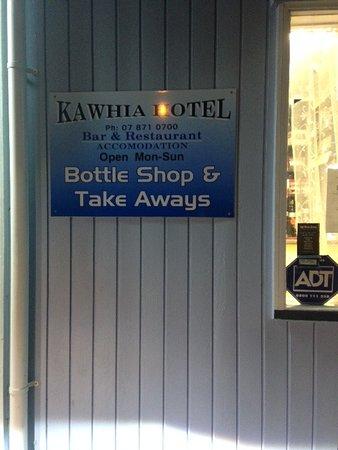 Kawhia, Nueva Zelanda: Kawia pub