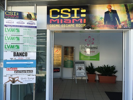 CSI: MIAMI Live Crime Escape Room