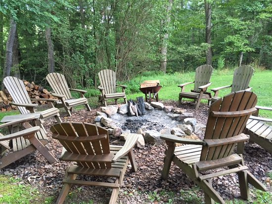 Swanton, MD : fire pit for s'mores