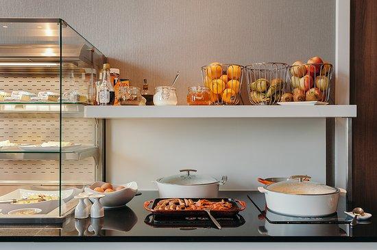 Oudenaarde, Belgio: Breakfast Buffet