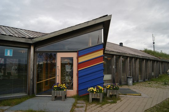 Finnmark, Norwegia: Инфоцентр в музее