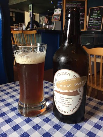 Ventry, Irlandia: Delicious Dingle-brewed Beer