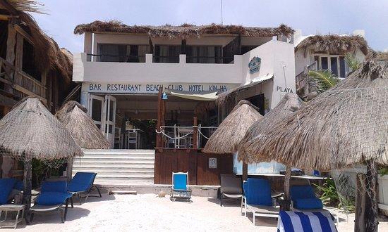La Cocina de Corina: il ristorante visto dalla spiaggia
