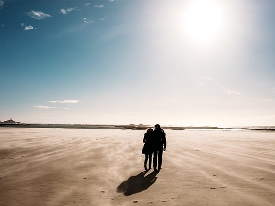 Jersey, UK: St Ouen's Beach. Your journey of rediscovery starts here.