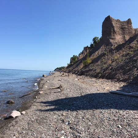 Wolcott, NY: Chimney Bluffs State Park - (12)