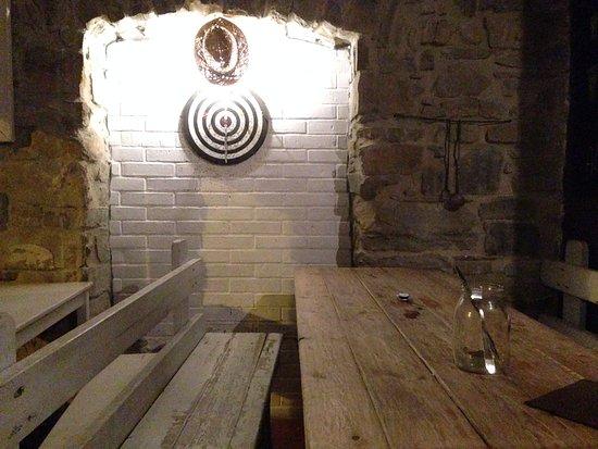 Montecorice, Italia: Sala interna (tavoli)