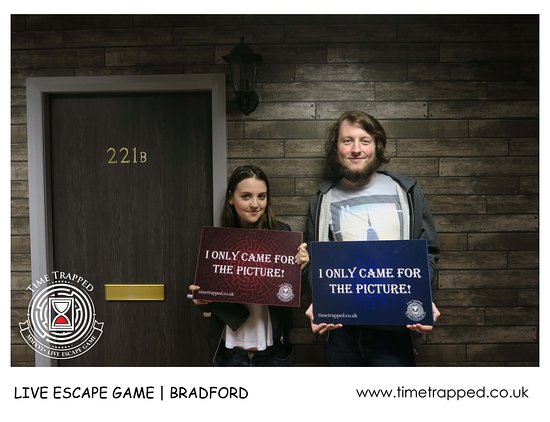 Group - Picture of Time Trapped, Bradford - TripAdvisor