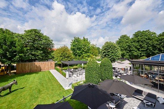 Hotel Ariane: the garden - onze tuin