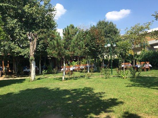 Korfez, Turkey: Güzel keyifli bir bahçe