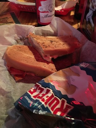 O'Malley's in the Alley: Smasher sandwich