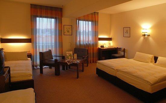 Hotel Merian: Vierbettzimmer