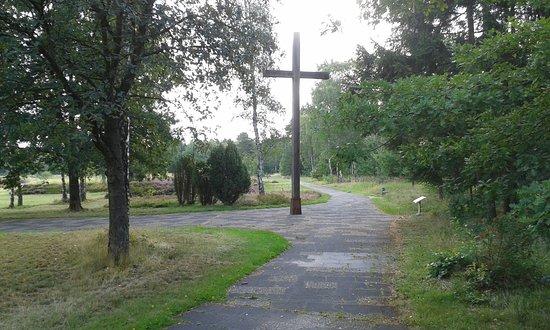 Bergen, เยอรมนี: Kreuz am Rundweg